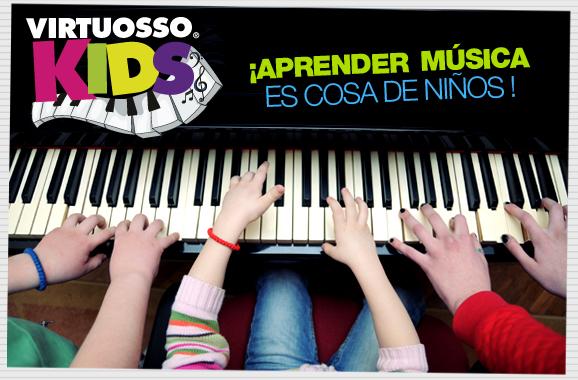 Presentamos Virtuosso Kids, el mejor concepto en educación musical para niños